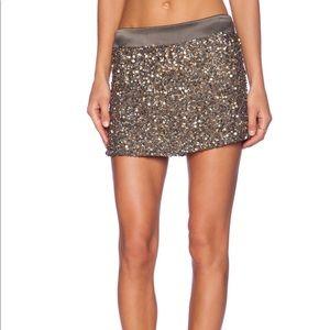 Young Fabulous & Broke Embellished Mini Skirt